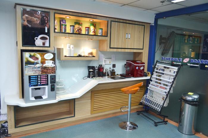 免费咖啡区